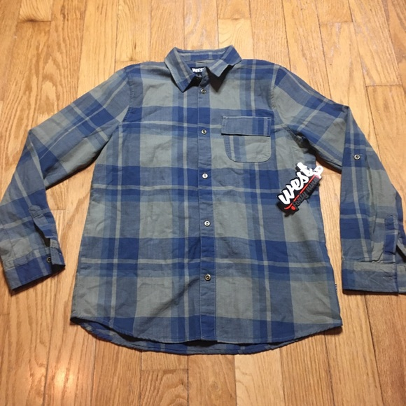 west 49 Other - West 49 Plaid Flannel Button Down Large Size 14